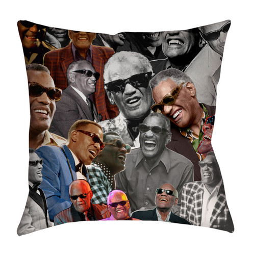 Ray Charles pillowcase