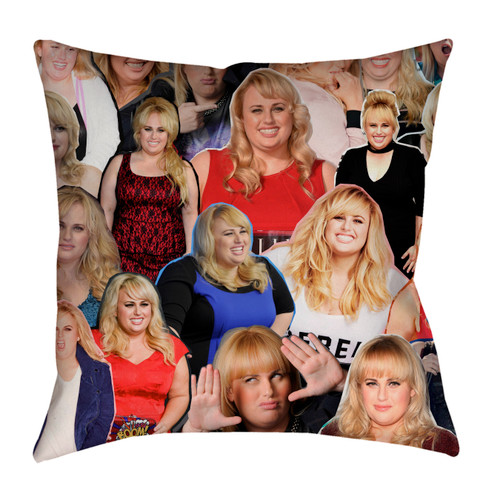 Rebel Wilson pillowcase