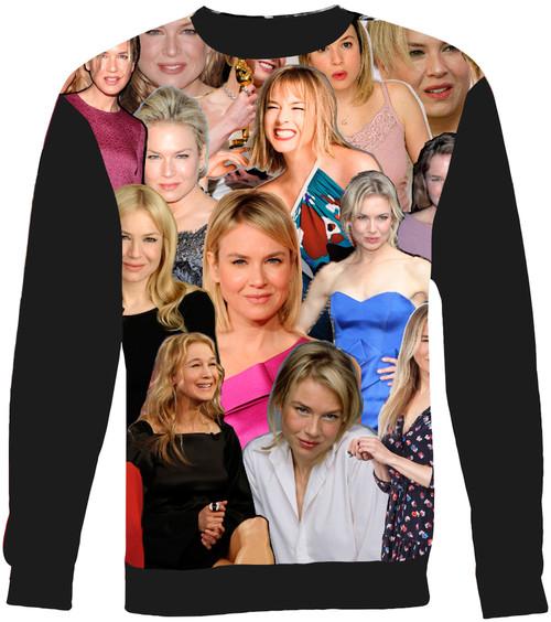 Renee Zellweger Collage Sweater Sweatshirt