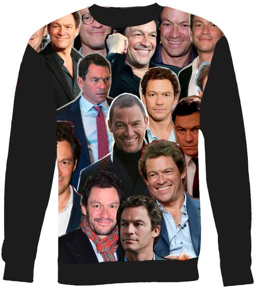 Dominic West Collage Sweater Sweatshirt