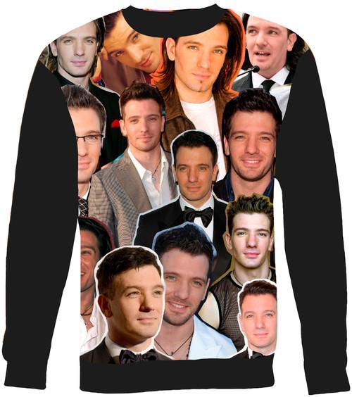 JC Chasez Collage Sweater Sweatshirt