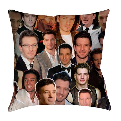 JC Chasez pillowcase