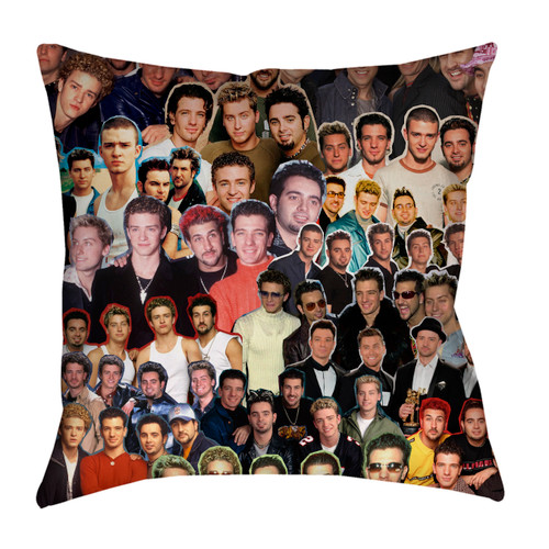 NSYNC pillowcase