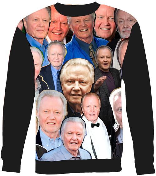 Jon Voight Collage Sweater Sweatshirt