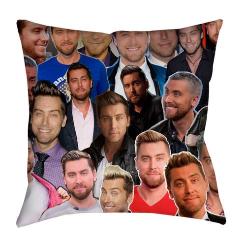 Lance Bass pillowcase