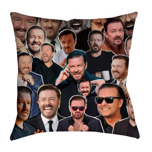 Ricky Gervais pillowcase