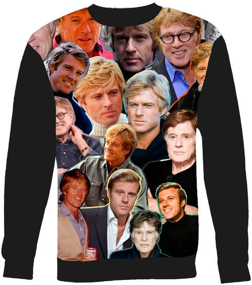 Robert Redford Collage Sweater Sweatshirt