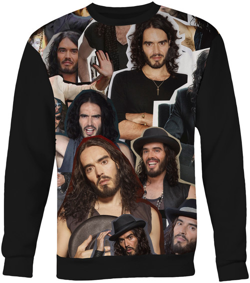 Russell Brand Collage Sweater Sweatshirt