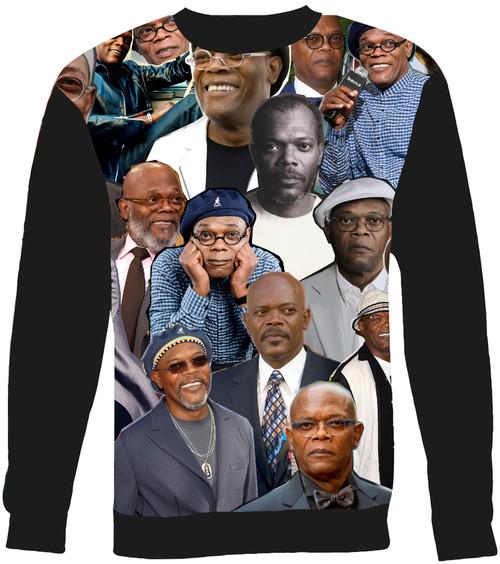 Samuel L Jackson Collage Sweater Sweatshirt