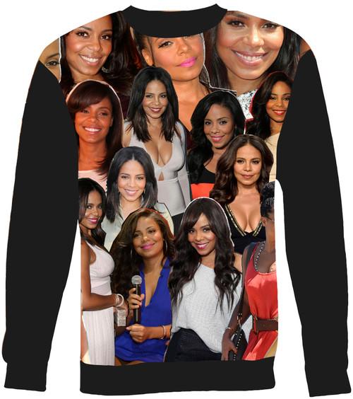 Sanaa Lathan Collage Sweater Sweatshirt