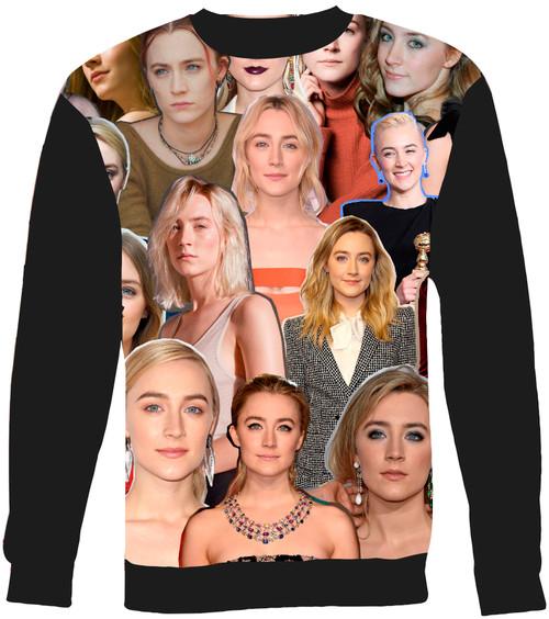 Saoirse Ronan Collage Sweater Sweatshirt