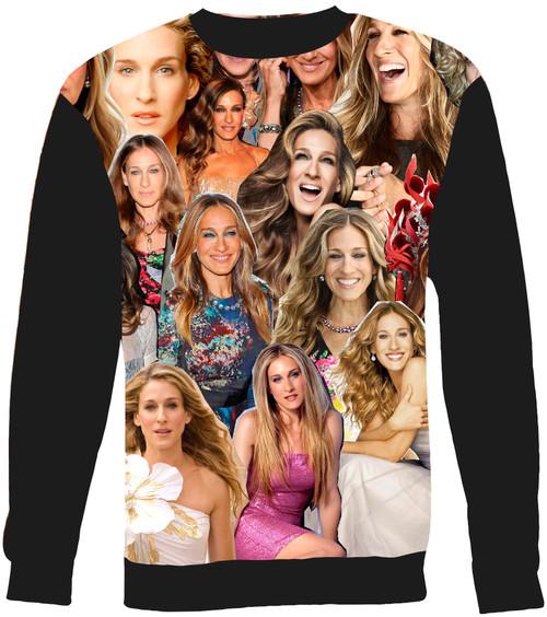 Sarah Jessica Parker Collage Sweater Sweatshirt