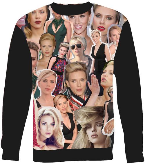 Scarlett Johansson Collage Sweater Sweatshirt