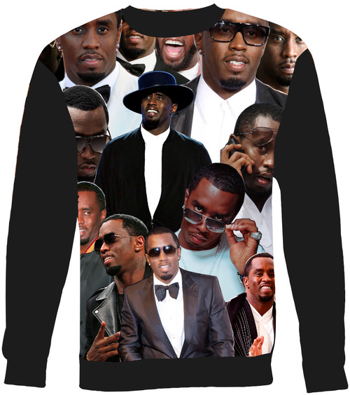 Sean Combs Collage Sweater Sweatshirt