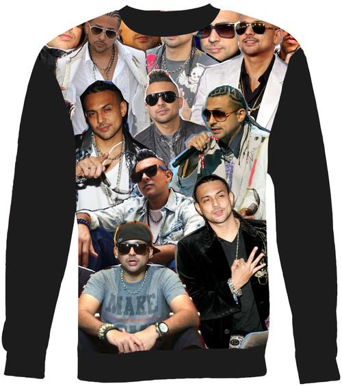 Sean Paul Collage Sweater Sweatshirt