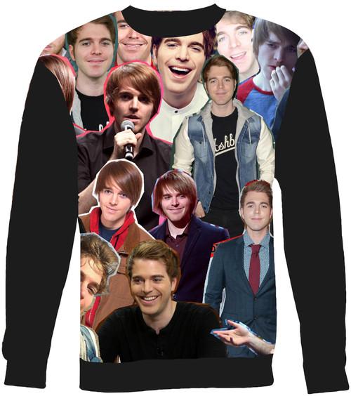 Shane Dawson Collage Sweater Sweatshirt