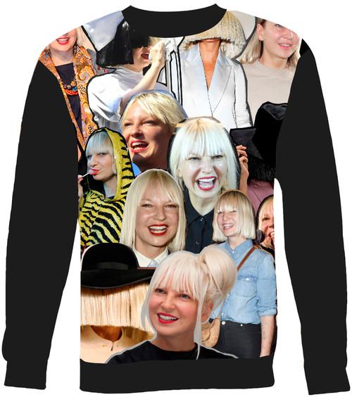 Sia Collage Sweater Sweatshirt