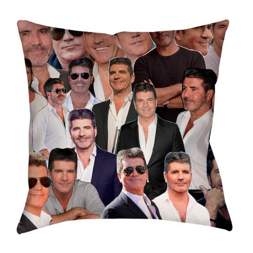 Simon Cowell Photo Collage Pillowcase