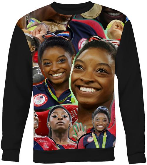 Simone Biles Collage Sweater Sweatshirt