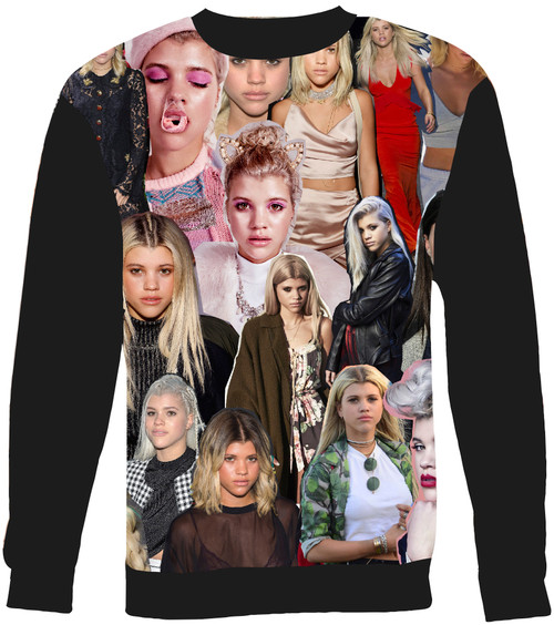 Sofia Richie Collage Sweater Sweatshirt