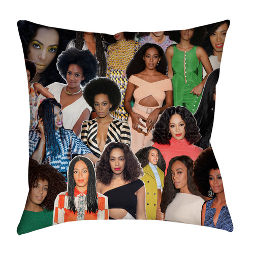 Solange Knowles pillowcase