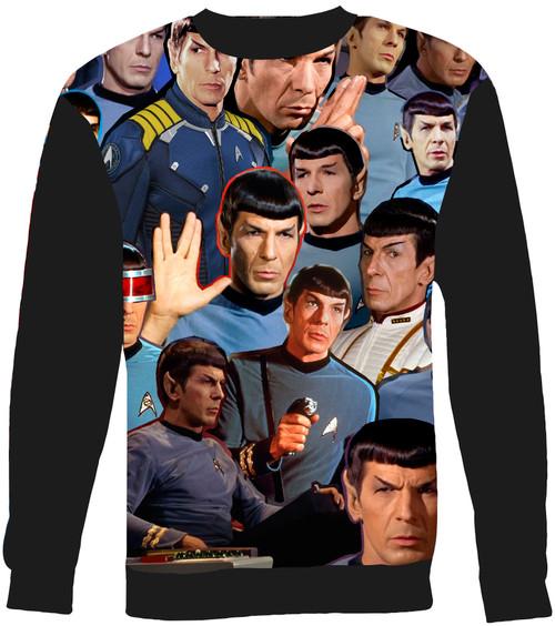 Spock Collage Sweater Sweatshirt