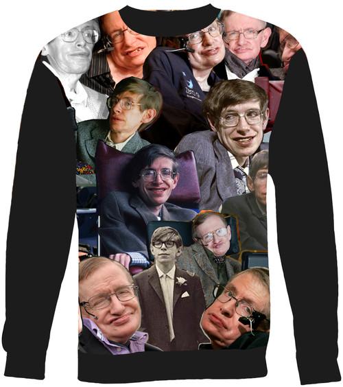 Stephen Hawking Collage Sweater Sweatshirt