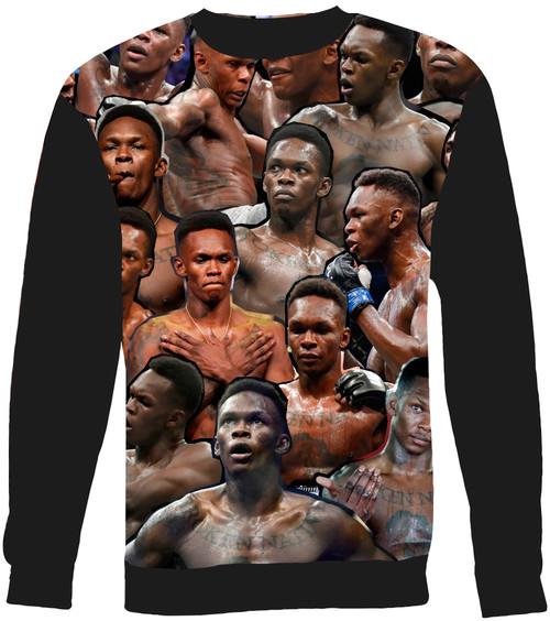 Israel Adesanya Collage Sweater Sweatshirt