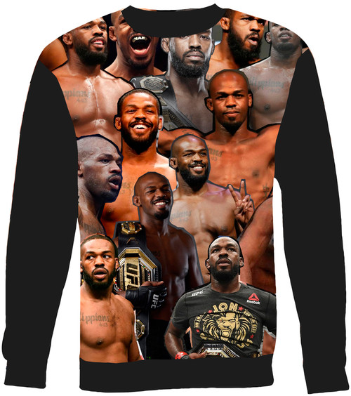 Jon Jones Collage Sweater Sweatshirt