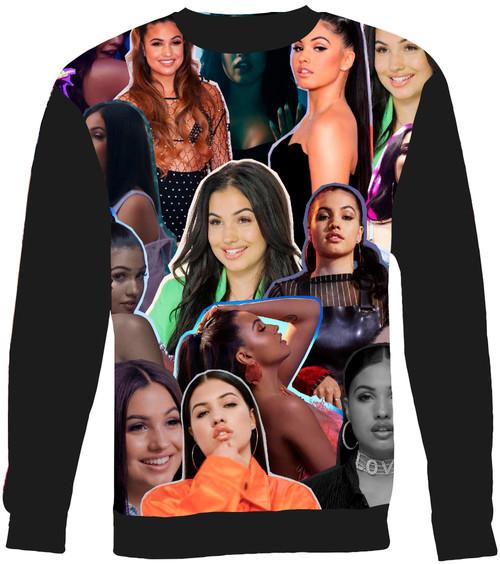 Mabel Collage Sweater Sweatshirt