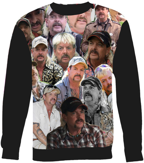 Joe Exotic Collage Sweater Sweatshirt