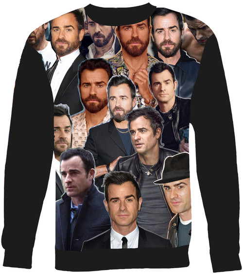 Justin Theroux Collage Sweater Sweatshirt