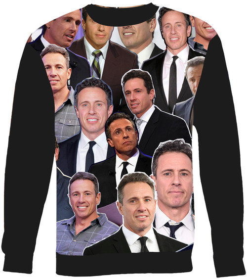 Chris Cuomo Collage Sweater Sweatshirt