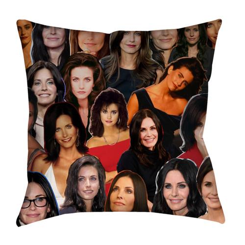 Courteney Cox Photo Collage Pillowcase