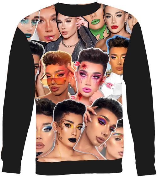 James Charles Collage Sweater Sweatshirt