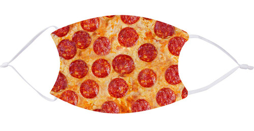 Pepperoni Pizza Face Mask with Filters