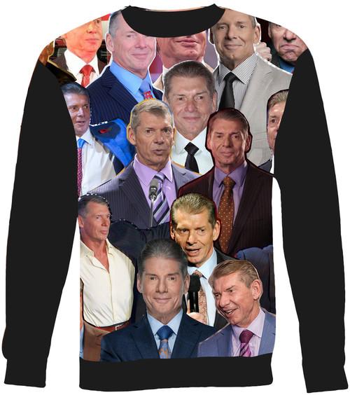 Vince McMahon Collage Sweater Sweatshirt