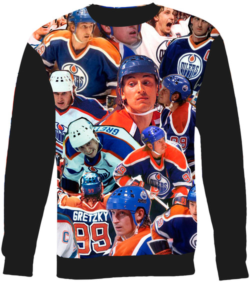 Wayne Gretzky Collage Sweater Sweatshirt