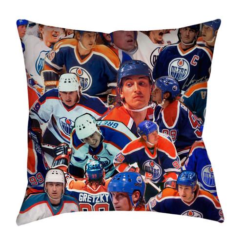Wayne Gretzky Photo Collage Pillowcase