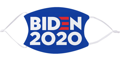 Biden 2020 Face Mask with Filters