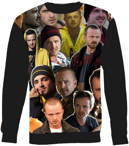 Jesse Pinkman Collage Sweater Sweatshirt