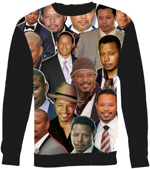 Terrence Howard Collage Sweater Sweatshirt