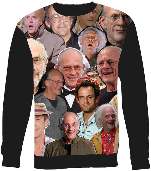 Christopher Lloyd sweatshirt