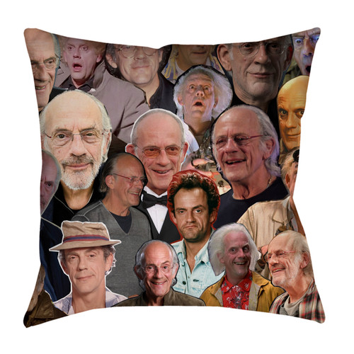 Christopher Lloyd pillowcase