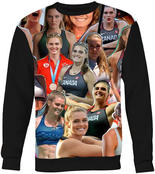 Alysha Newman sweatshirt
