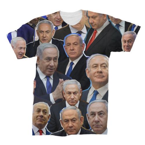 Benjamin Netanyahu t-shirt