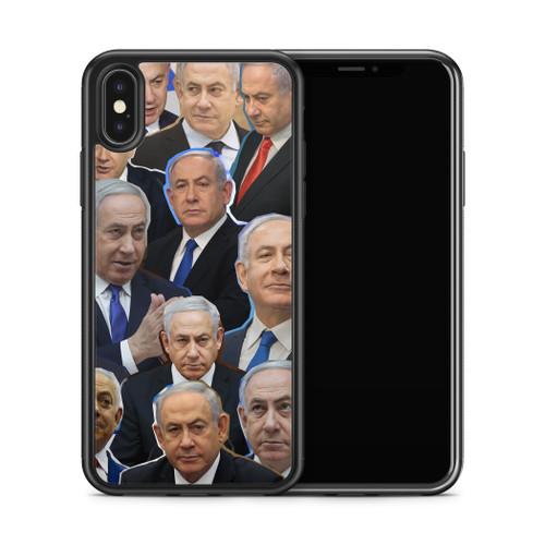 Benjamin Netanyahu phone case X