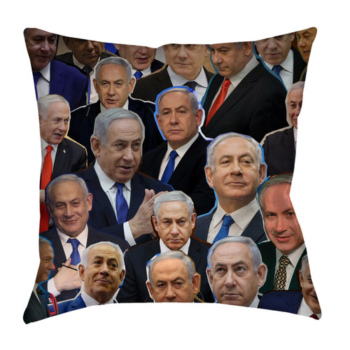 Benjamin Netanyahu pillowcase