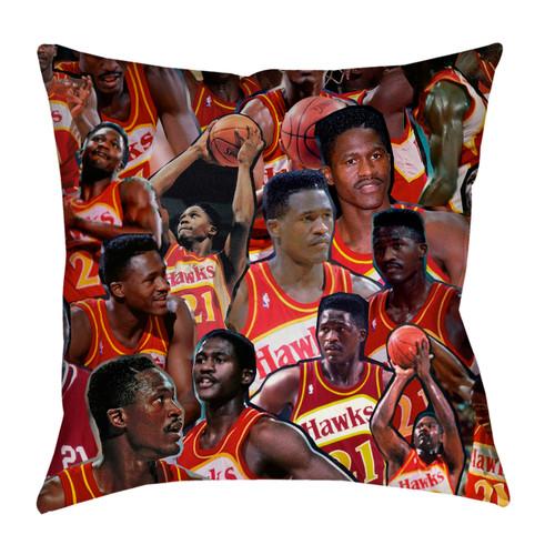 Dominique Wilkins pillowcase