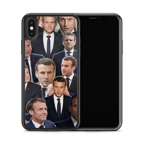 Emmanuel Macron phone case X